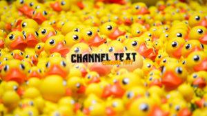Картинка резиновые утята для канала ютуб