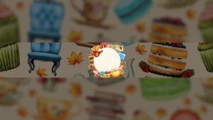 Картинка для шапки ютуба Чайный столик