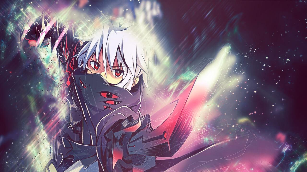 Картинка для превью в стиле аниме на ютуб канал со сказочным персонажем.