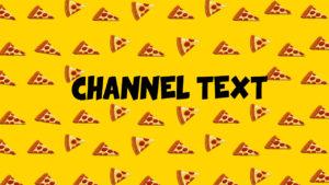 Картинка куски пиццы для обложки на видео