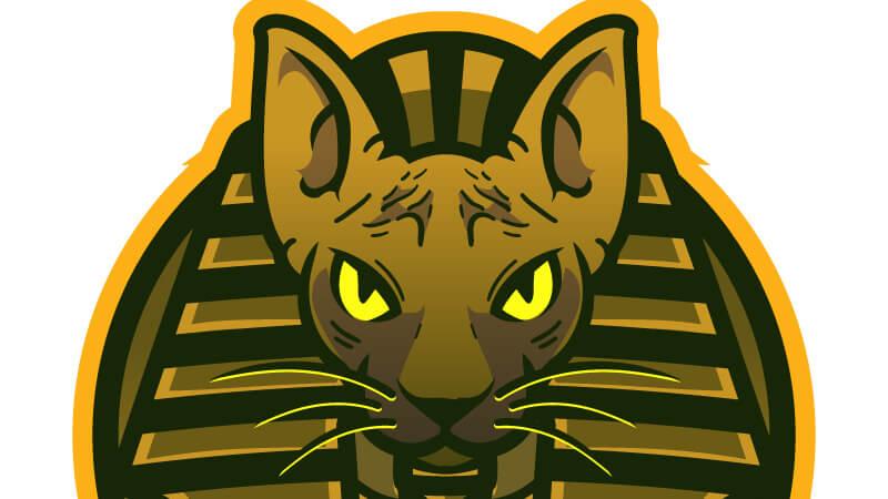 Картинка на аву для игрового канала ютуба кошка фараонов