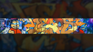 s105 - граффити на стене
