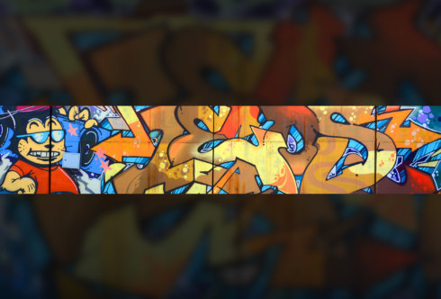 Картинка шапка для канала без текста граффити стрит арт