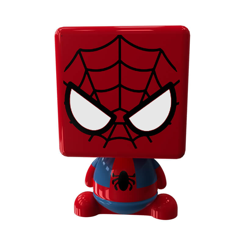 Картинка с игрушечным человеком - пауком.