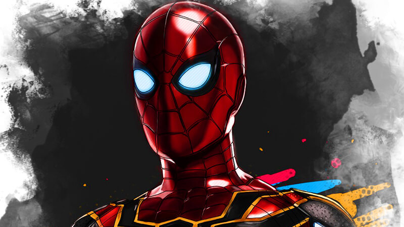 Картинка spiderman: вдали от дома
