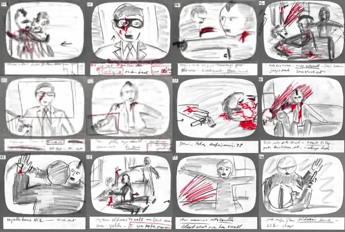 Картинка как сделать раскадровку видео