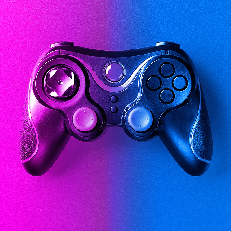 Пурпурная ава джойстик для игровой консоли
