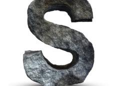 Картинка шрифт для аватарки для стандофф 2 с буквой s