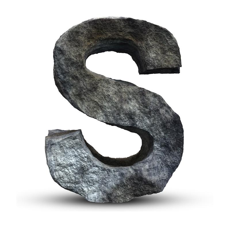 Картинка для стандофф 2 с буквой s