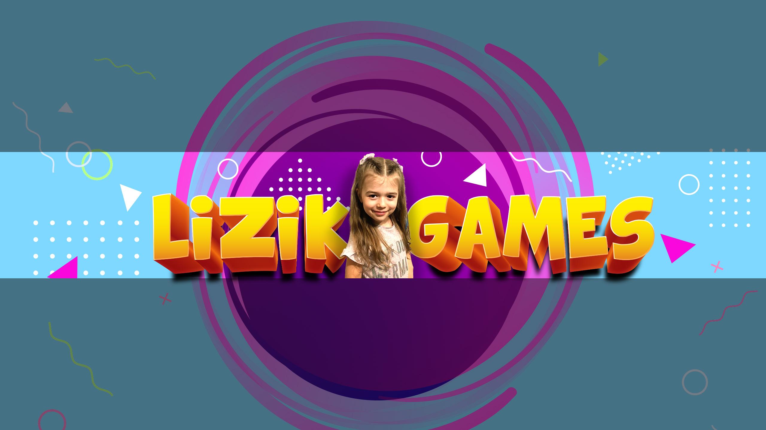 Картинка голубой баннер для ютуба с текстом и улыбающейся девочкой в фиолетовом круге