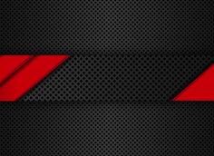 Картинка - красный шаблон с черным карбоном на оформление ютуб канала psd